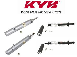 KYB Front and Rear Suspension Struts and Mounts Kit For Honda Civic CRX