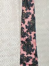 "Robert Talbott Pink with Blue Paisley SILK Men's Tie 4 Jacobson's 57.5"" x 3.25"""