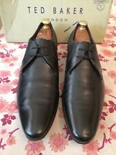 Ted Baker Martt 2 Black  Leather Derby Shoe Uk 12,RRP£130