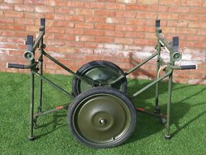 British Army  Military MOD - Folding Stretcher Carrier Cart On Wheels