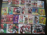 Huge Lot of (50) Jerry Rice Football Cards HOF 49ers