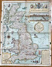 Shakespeare's Britain :Wall Maps History & Nature  -9780792249917- NG-125