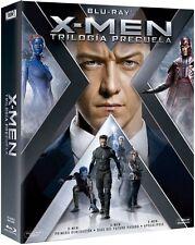 X-MEN TRILOGÍA PRECUELA BLU RAY NUEVO ( SIN ABRIR ) PRIMERA, FUTURO, APOCALIPSIS