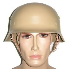 WW2 German  M35 Steel Helmet-Sand / Yellow-UK Supplier