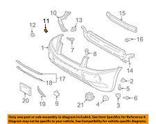 TOYOTA OEM 01-07 Highlander Front Bumper-Side Support Plate 5211548040