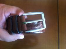 mens vintage genuine leather belt