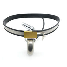 Amazing Price Stainless Steel Male Underwear Chastity Belt Plug For Party A186