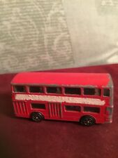 Corgi Daimler Fleetline - Red - London Bus with driver & passengers RARE
