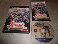 JEU PLAYSTATION 2 JAP (PS2): J-PHOENIX BURST TACTICS Limited Edition Complet TBE