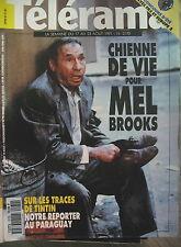 2170 MEL BROOKS SUR LES TRACES DE TINTIN L'OREILLE CASSéE SEMPé (6 TELERAMA 1991