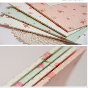 A5 Notebook Journal Rose Print Notepad Gift Diary Paper Book Lined 20.5 x 14 cm
