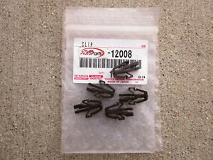 FITS: 81 - 84 TOYOTA CRESSIDA FRONT RADIATOR GRILLE RETAINER CLIPS QTY 5 OEM NEW