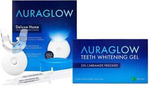 AuraGlow Whitening Kit and Whitening Gel Bundle