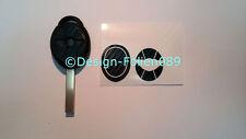 Carbon Schwarz Folie Dekor Schlüssel Key Cooper JCW S Mini R53 John Works