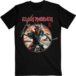Iron Maiden Senjutsu Eddie Warrior Circle Shirt S-XXL Official Metal Band TShirt