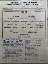More details for chelsea v west ham united 1944/45