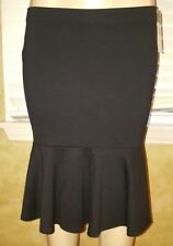 Ralph Lauren black ruffled skirt stretch size s. Nwt $79.5
