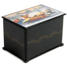 "6x4"" Trinket Box Russian Palekh Style Lacquer Box Troika Print. Keepsake"
