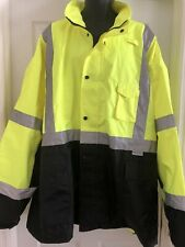 Paramedic VEA TWO TONE INSULATED HIGH VISIBILITY WATERPROOF BOMBER JACKET  6XL