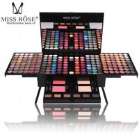 180 Colors Professional Eye Shadow Palette Makeup Set with Brush Mirror Shrink