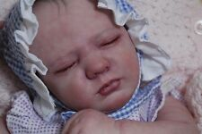 "COMPLETED ""Realborn"" Logan REBORN fake baby life like vinyl art ARTIST doll"