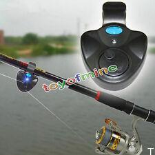 électronique de lumière LED Bite son sonnette d'alarme clip sur Canne à pêche