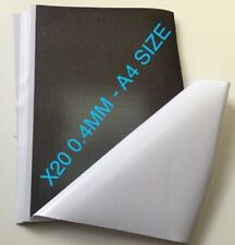 20 X A4 Magnet Sheets Adhesive Front Layer for Home and Office BULK Buy 0.4mm