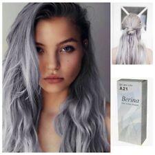 HAIR CREAM SEMI PERMANENT HAIR DYE COLOR LIGHT GRAY SILVER PUNK  BERINA- A21 NEW