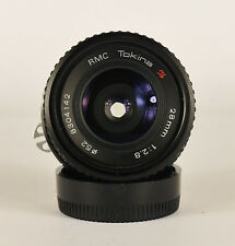 RMC TOKINA 28mm f2.8 WIDE ANGLE LENS. FOR NIKON Ai MOUNT. MADE IN JAPAN. #4142