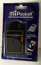 MiPocket APP00110 Phone Pocket Denim - Fits On back Of Cells etc. New In Package