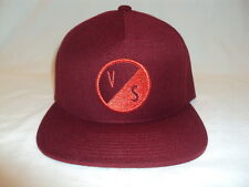 NEW VOLCOM SURF MEN SPIKED CABERNET ADJUSTABLE CAP HAT