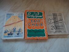 Collection of 3 Vintage Boxed Party Games -British Landmarks/ Craft Craft +Other