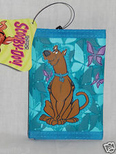NEW IN PACKAGE SCOOBY DOO KIDS TRIFOLD BLUE WALLET