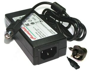 12V 5A power supply for IcyBox IB-3640SU3 HDD Enclos, UK power cable is included