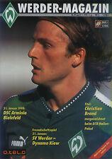 21.01.1998 SV Werder Bremen - Dynamo Kiew