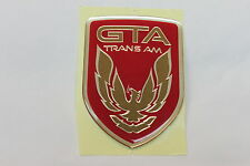 91-92 Trans Am GTA Bright Red Front Bumper Emblem New