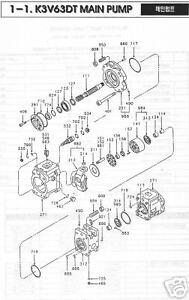 KAWASAKI K3V 63DT Hydrostatic/ Hydraulic Pistons (9 PC)
