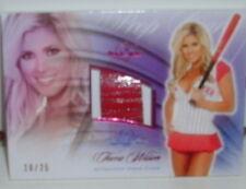 BENCHWARMER SIGNATURE SERIES 2010 - TORRIE WILSON - PINK FOIL PROP CARD -#10/25