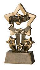 Music Star Resin Trophy FREE ENGRAVING