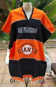 MLB Baseball Handmade Mexican San Francisco GIANTS Poncho