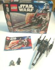 Lego 7915 Star Wars Imperial V-wing Starfighter 100% Complete With Box & Manual