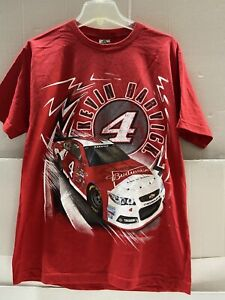 Kevin Harvick #4 Nascar Budweiser Red Speed Bolt Men's Tee 2XL