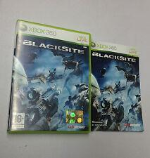 BLACKSITE  XBOX 360 USATO FUNZIONANTE