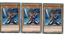 3 x Buster-Klingenkämpfer YSYR-DE009, Common, Mint, Deutsch, Playset