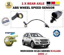 Mercedes Ml350 500 Ml280 300 Ml320 CDI 2005 - > 1x rueda trasera velocidad Abs Sensor