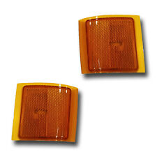 Fits 94-02 Chevrolet C K Suburban Tahoe LOWER Side Marker Light Assembly 1 Pair