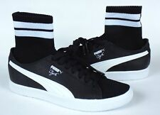 Puma Clyde Sock NYC Walter Frazier Size 9 Basketball Black White New