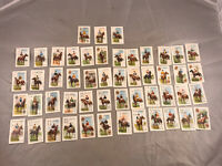 LOT OF 51 ANTIQUE SCISSORS CIGARETTES JOCKEY PLAYING CARDS W.D. & H.O. WILLS