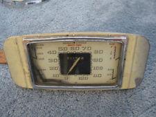 1936 buick instrument cluster speedometer gauge gauges oil amp fuel gas