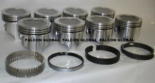 Oldsmobile/Olds 455 4-Barrel Cast Pistons+MOLY Rings Kit 9.75:1 +30